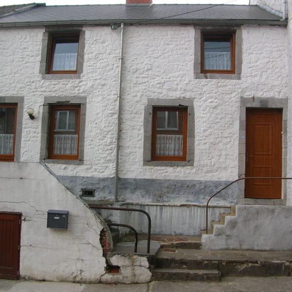 Rénovation et aménagement de façade avant travaux